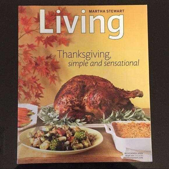 3 Martha Stewart Living November 2008-10 Magazines